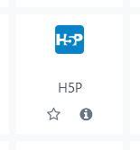 afegir activitat h5p nova