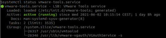 service-vmware-tools-status