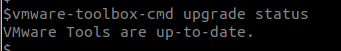 vmware-tools-cmd-up-to-date