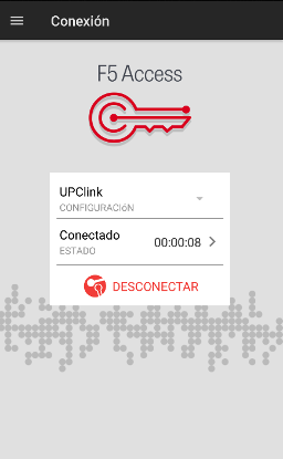F5 Access Android Client - UPClink Disconnect